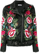 P.A.R.O.S.H. embroidered flower jacket - women - Polyester - XS