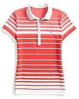 Tommy Hilfiger Women's Heritage Fit Multi Stripe Polo