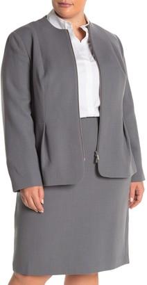Lafayette 148 New York Gwyneth Wool Jacket (Plus Size)