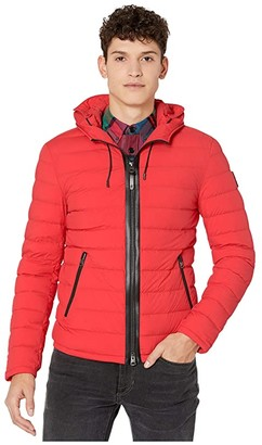 Mackage Mike Stretch Puffer (Tomato) Men's Coat