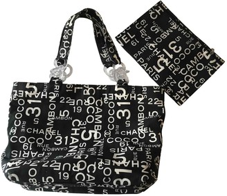 Chanel Deauville Other Cotton Handbags