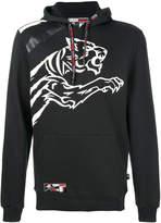 Plein Sport logo print hoodie