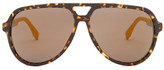 HUGO BOSS Women&s Aviator Sunglasses
