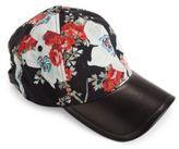 Rag & Bone Marilyn Floral-Print Baseball Cap
