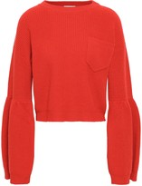 Brunello Cucinelli Cropped Cashmere Sweater