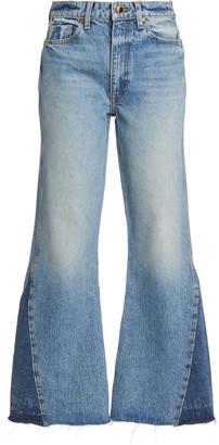 KHAITE Layla Flared Jeans