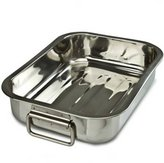 KitchenCenter Pendeford Stainless Steel Roasting Tray