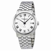 Raymond Weil Men's 'Maestro' Swiss Automatic Stainless Steel Casual Watch, Color:Silver-Toned (Model: 2237-ST-00659)