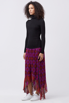 Diane von Furstenberg Louella Chiffon Skirt