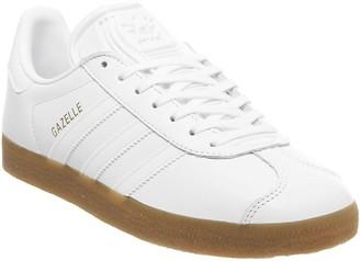 adidas Gazelle Trainers White White Gum
