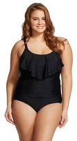 Ava & Viv Women's Plus Size Flounce One Piece