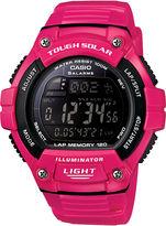 Casio Solar Runner Womens Large Case Watch WS220C-4B