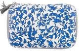 Diane von Furstenberg Printed Leather Cosmetic Bag