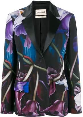 Roberto Cavalli Marchito print blazer
