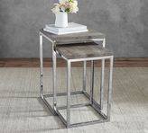 Pottery Barn Durham Nesting Side Table