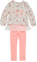 Juicy Couture Floral Tunic and Leggings Set