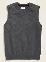 Old Navy Uniform V-Neck Sweater Vest for Boys
