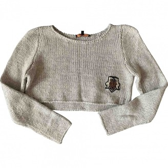 Maje Grey Wool Knitwear for Women