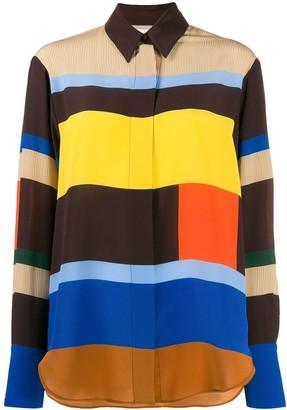 Parker Chinti & striped shirt
