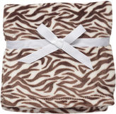 Baby Starters Soft and Silky Zebra Print Blanket