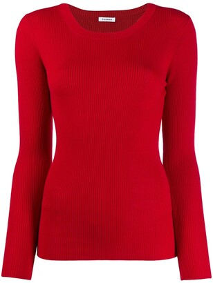 P.A.R.O.S.H. Slim-Fit Ribbed Jumper