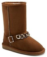 Girls' Rugged Bear Shearling Boots - Assorted Colors
