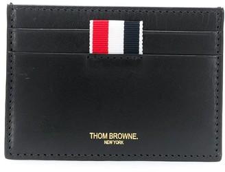 Thom Browne Sea Icon embossed card holder