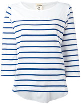 Semi-Couture Semicouture - striped longlseeved T-shirt - women - Cotton - S