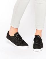 Le Coq Sportif Black Glitter Agate Lo Sneakers