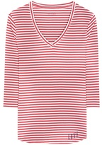81 Hours 81hours Estelle striped cotton t-shirt