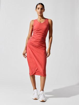 Sundry Rouched Tulip Sleeveless Dress