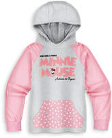 Disney Minnie Mouse Pullover Hoodie - Girls