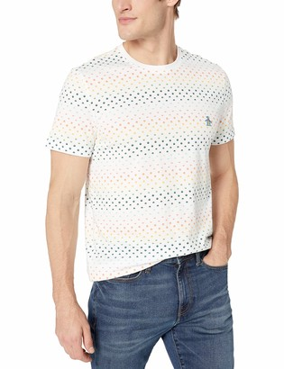 Original Penguin Men's Short Sleeve Printed Tee