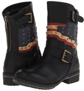 Mia Soliderr (Black) - Footwear
