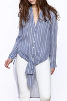 Bishop + Young Stripe Button-Down Tunic