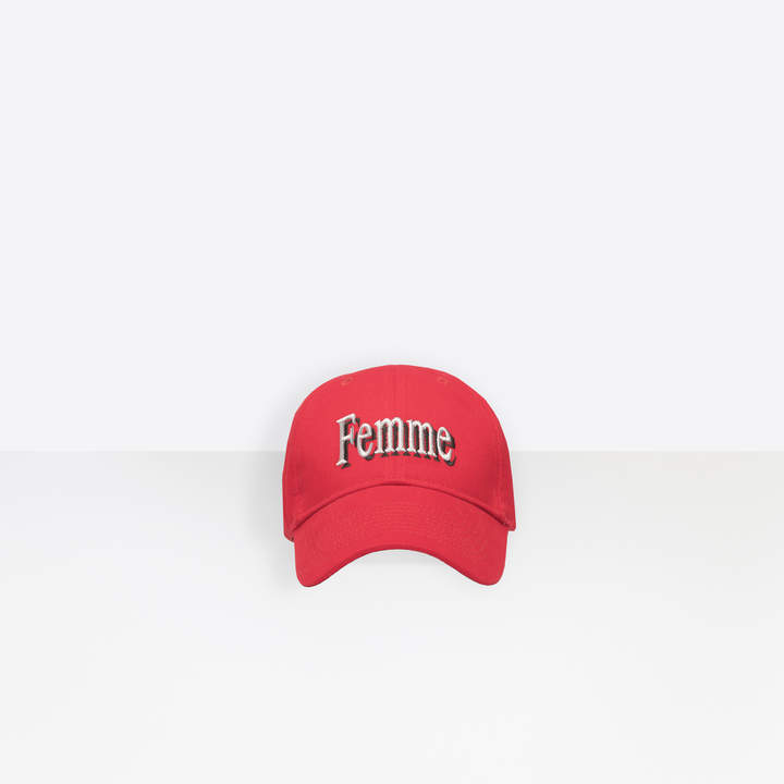 b169b356 Red Baseball Cap Women's Hats - ShopStyle
