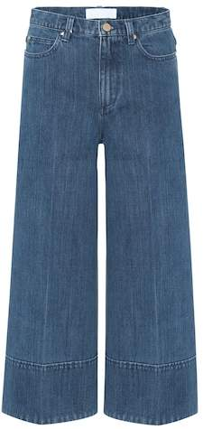 Co Cropped wide-leg jeans