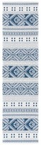 Blue Area Stansfield Southwestern Cotton Rug Union Rustic Rug Size: Runner 2' x 8'