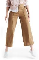 Madewell Women's Langford Crop Wide Leg Pants