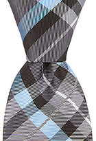 Daniel Cremieux Journey Plaid Narrow Silk Tie