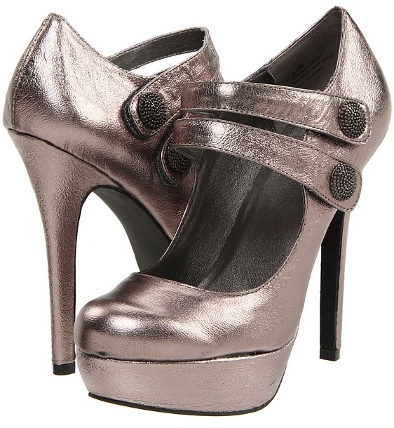 Not Too Coy Maria (Pewter) - Footwear