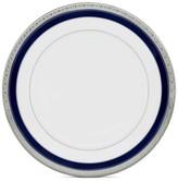 "Noritake Crestwood Cobalt Platinum"" Dinner Plate"