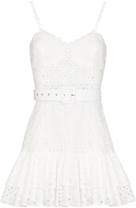 Charo Ruiz Ibiza Marianna embroidered mini dress