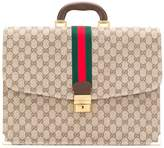 Gucci Pre-Owned GG Supreme briefcase
