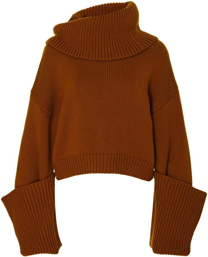 Monse Giant Cuff Sweater Cashwool