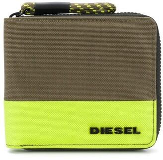 Diesel Billfold Logo Wallet
