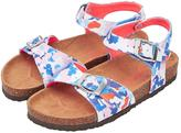 Joules JUNIOR GIRLS TIPPYTOES DITSY FLORAL SANDAL