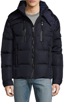 SAM. Quilted Hooded Puffer Jacket
