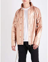 Helmut Lang Lace-up Sides Metallic Jacket