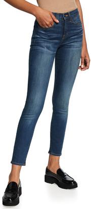 Veronica Beard Jeans Debbie High-Rise Skinny Jeans
